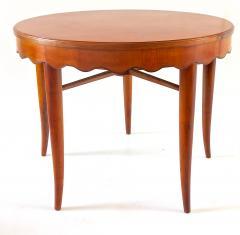 Paolo Buffa PAOLO BUFFA unique round dining table cherrywood five legs 1950 - 1701376