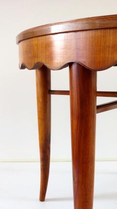 Paolo Buffa PAOLO BUFFA unique round dining table cherrywood five legs 1950 - 1701380