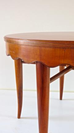 Paolo Buffa PAOLO BUFFA unique round dining table cherrywood five legs 1950 - 1701385