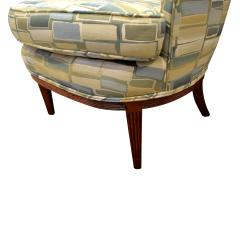 Paolo Buffa Pair Of Stylish Wingback Chairs In The Style Of Paolo Buffa 1950s - 1192078
