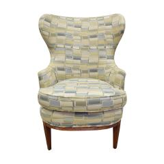 Paolo Buffa Pair Of Stylish Wingback Chairs In The Style Of Paolo Buffa 1950s - 1192081
