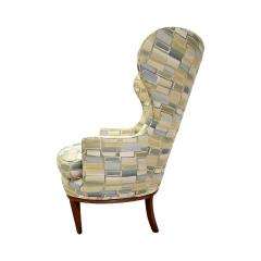 Paolo Buffa Pair Of Stylish Wingback Chairs In The Style Of Paolo Buffa 1950s - 1192083