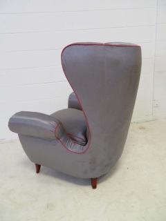 Paolo Buffa Pair of 1960s Italian Wing Chair Paolo Buffa Style Mid Century Modern - 1789882
