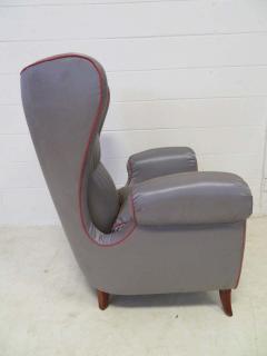 Paolo Buffa Pair of 1960s Italian Wing Chair Paolo Buffa Style Mid Century Modern - 1789884