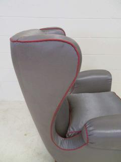 Paolo Buffa Pair of 1960s Italian Wing Chair Paolo Buffa Style Mid Century Modern - 1789887
