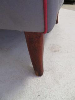 Paolo Buffa Pair of 1960s Italian Wing Chair Paolo Buffa Style Mid Century Modern - 1789890
