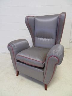 Paolo Buffa Pair of 1960s Italian Wing Chair Paolo Buffa Style Mid Century Modern - 1789891