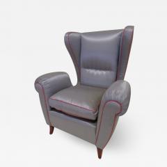 Paolo Buffa Pair of 1960s Italian Wing Chair Paolo Buffa Style Mid Century Modern - 1791470