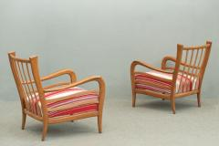 Paolo Buffa Pair of Armchairs attributed to Paolo Buffa - 1036536