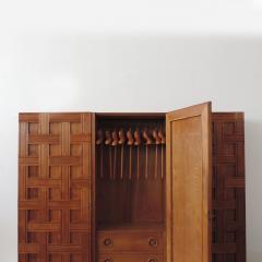 Paolo Buffa Paolo Buffa 1940s Oak Wood Cupboard Italy - 1951981