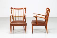 Paolo Buffa Paolo Buffa 1950s chairs in cherry wood - 835733