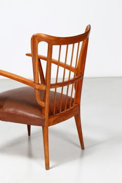 Paolo Buffa Paolo Buffa 1950s chairs in cherry wood - 835736