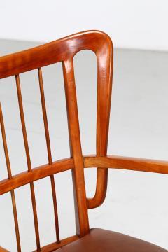 Paolo Buffa Paolo Buffa 1950s chairs in cherry wood - 835737