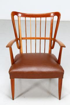 Paolo Buffa Paolo Buffa 1950s chairs in cherry wood - 835738
