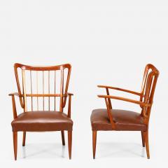 Paolo Buffa Paolo Buffa 1950s chairs in cherry wood - 836233