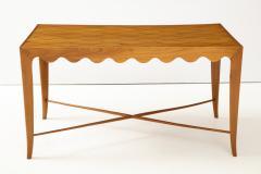Paolo Buffa Paolo Buffa Coffee table with Scalloped Apron Italy c 1950 - 1161618