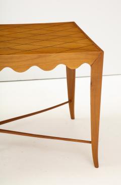 Paolo Buffa Paolo Buffa Coffee table with Scalloped Apron Italy c 1950 - 1161622