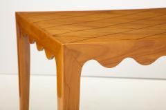 Paolo Buffa Paolo Buffa Coffee table with Scalloped Apron Italy c 1950 - 1161623