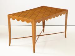 Paolo Buffa Paolo Buffa Coffee table with Scalloped Apron Italy c 1950 - 1161624