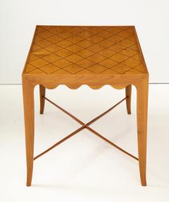 Paolo Buffa Paolo Buffa Coffee table with Scalloped Apron Italy c 1950 - 1161625