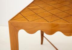 Paolo Buffa Paolo Buffa Coffee table with Scalloped Apron Italy c 1950 - 1161628