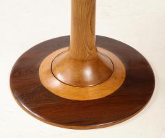 Paolo Buffa Paolo Buffa Oak and Rosewood Pedestal Dining Table - 1833514