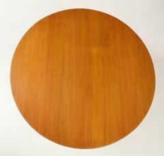 Paolo Buffa Paolo Buffa Oak and Rosewood Pedestal Dining Table - 1833518