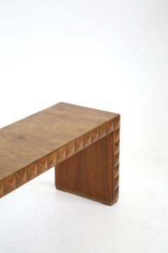 Paolo Buffa Paolo Buffa Rare Italian Bench in Walnut in Technique 1940s - 1585425