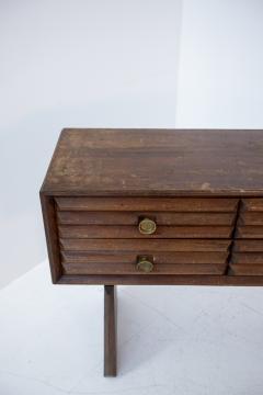 Paolo Buffa Paolo Buffa italian Sideboard in walnut and Brass 1950s - 1885162