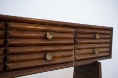 Paolo Buffa Paolo Buffa italian Sideboard in walnut and Brass 1950s - 1885163