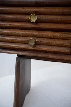 Paolo Buffa Paolo Buffa italian Sideboard in walnut and Brass 1950s - 1885165