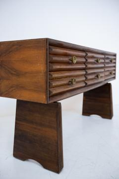 Paolo Buffa Paolo Buffa italian Sideboard in walnut and Brass 1950s - 1885166