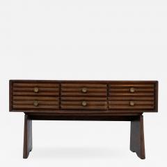 Paolo Buffa Paolo Buffa italian Sideboard in walnut and Brass 1950s - 1888104