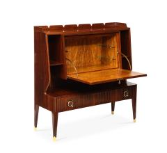 Paolo Buffa Rare Drop Front Bar Cabinet by Paolo Buffa - 1155962