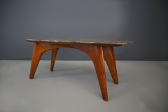 Paolo Buffa Rare table by Paolo Buffa in lunar marble in perfect condition  - 1074259