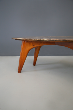 Paolo Buffa Rare table by Paolo Buffa in lunar marble in perfect condition  - 1074260