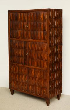 Paolo Buffa Sculptural wood cabinet attributed to Paolo Buffa - 1389703