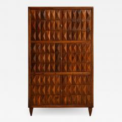 Paolo Buffa Sculptural wood cabinet attributed to Paolo Buffa - 1393058