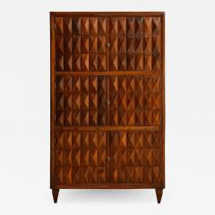 Paolo Buffa Sculptural wood cabinet attributed to Paolo Buffa - 1552691