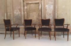Paolo Buffa Set of 8 Dining Chairs Attributed to Paolo Buffa - 1036544