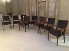 Paolo Buffa Set of 8 Dining Chairs Attributed to Paolo Buffa - 1036548