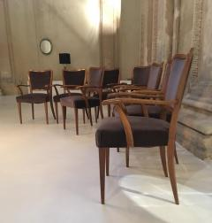 Paolo Buffa Set of 8 Dining Chairs Attributed to Paolo Buffa - 1036549