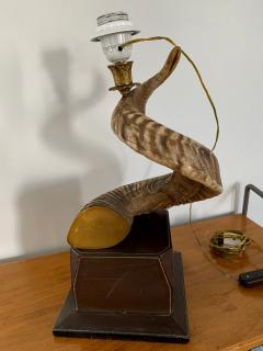 Paolo Gucci Horn table lamp base - 1018510