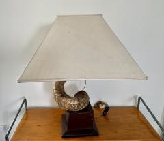 Paolo Gucci Horn table lamp base - 1018513