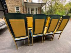 Paolo Gucci RARE MAGNIFICIENT OPULENT SUITE OF TEN DINING CHAIRS DESIGNED BY PAOLO GUCCI - 1951472