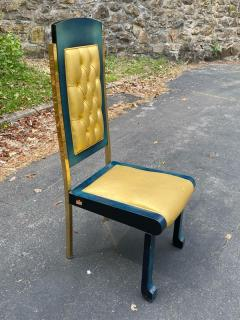 Paolo Gucci RARE MAGNIFICIENT OPULENT SUITE OF TEN DINING CHAIRS DESIGNED BY PAOLO GUCCI - 1951476