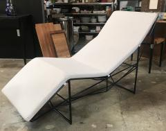 Paolo Passerini Sculptural Chaise Longue by Paolo Passerini for UVET Italy 1980s - 1297582
