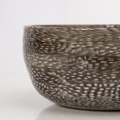 Paolo Venini A puntini Murrine glass bowl Paolo Venini venini Murano Italia - 1615810