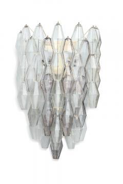 Paolo Venini Large Scale Pair of Polyhedri Sconces by Paolo Venini for Venini - 411210