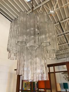 Paolo Venini Mazzega chandelier - 1677551